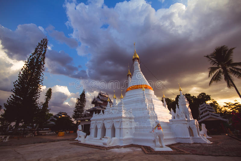 Download Sunset editorial photography. Image of buddhist, cloudy - 43702142