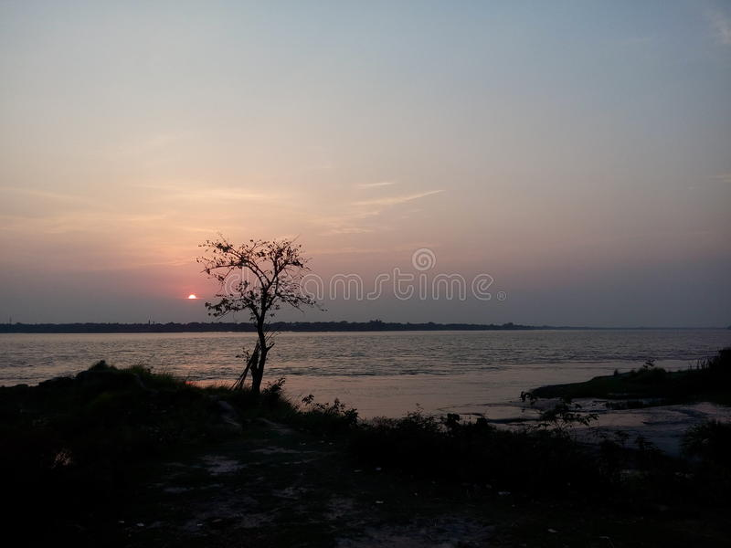 Sunset time royalty free stock images