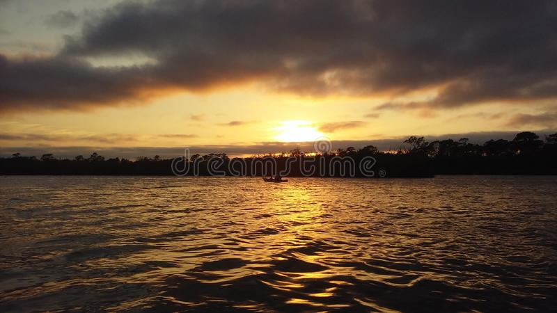 Sunset tranquility& x27;s royalty free stock photos