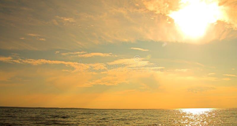 sunset tytoniu zdjęcie stock