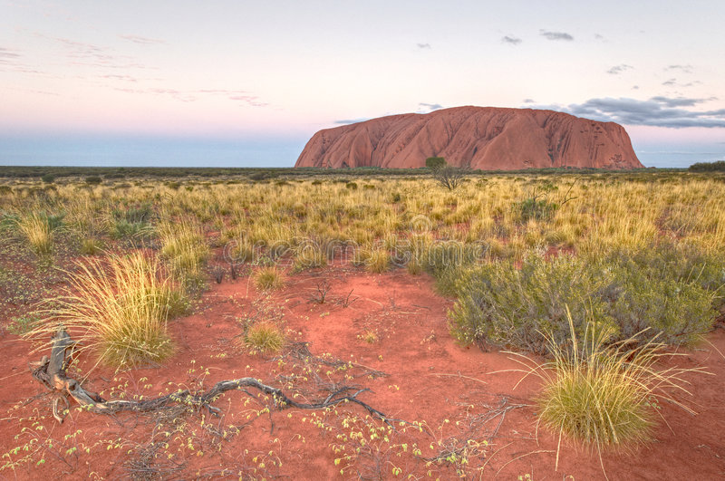 Download Sunset At Uluru Editorial Photography - Image: 5378122