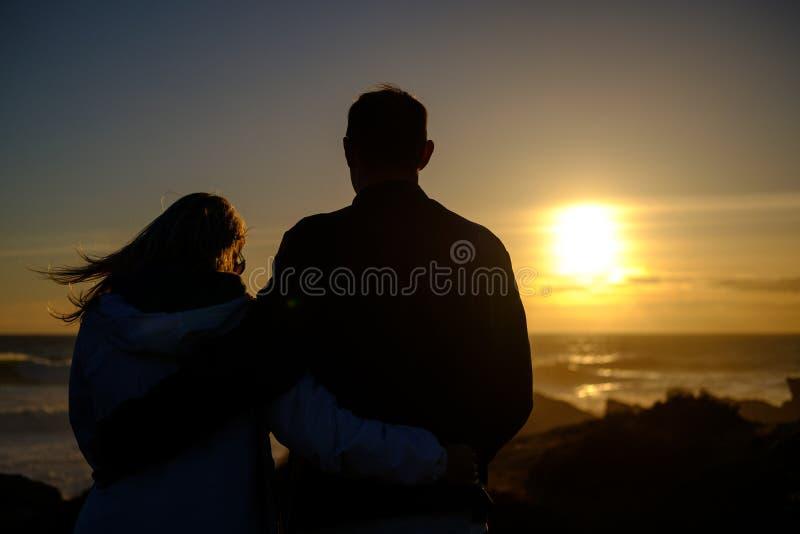 Sunset imagens de stock