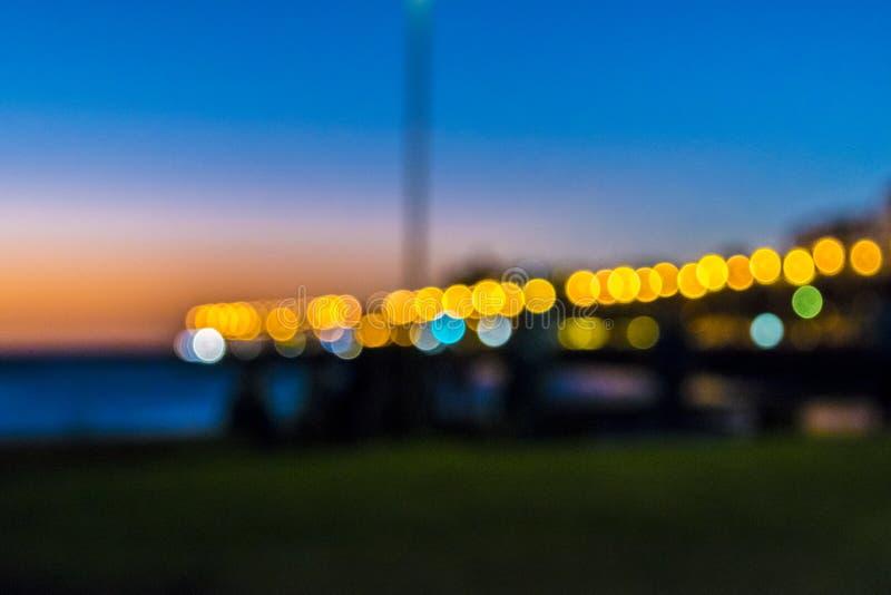 Sunset Urban Scene stock image