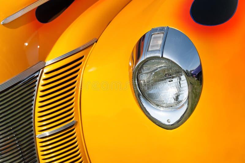 Sunset vehicle grille stock photos