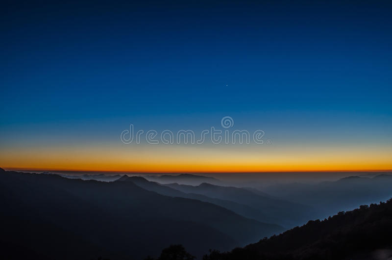 After Sunset royalty free stock photo
