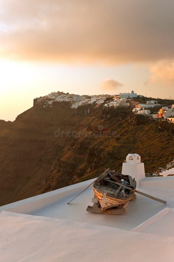 Download Sunset View In Santorini Island Stock Photo - Image: 23969376