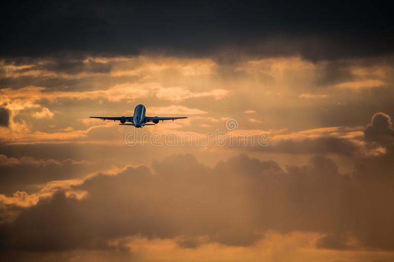 Warsaw - Frederic Chopin Airport stock photography