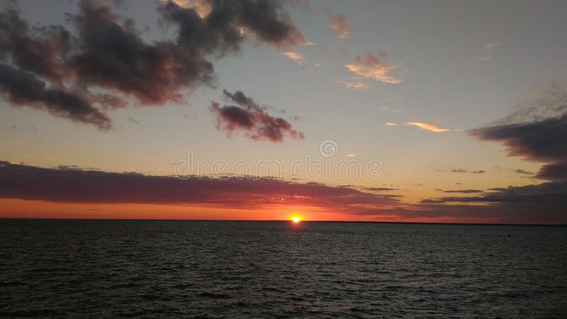 Sunset. royalty free stock images