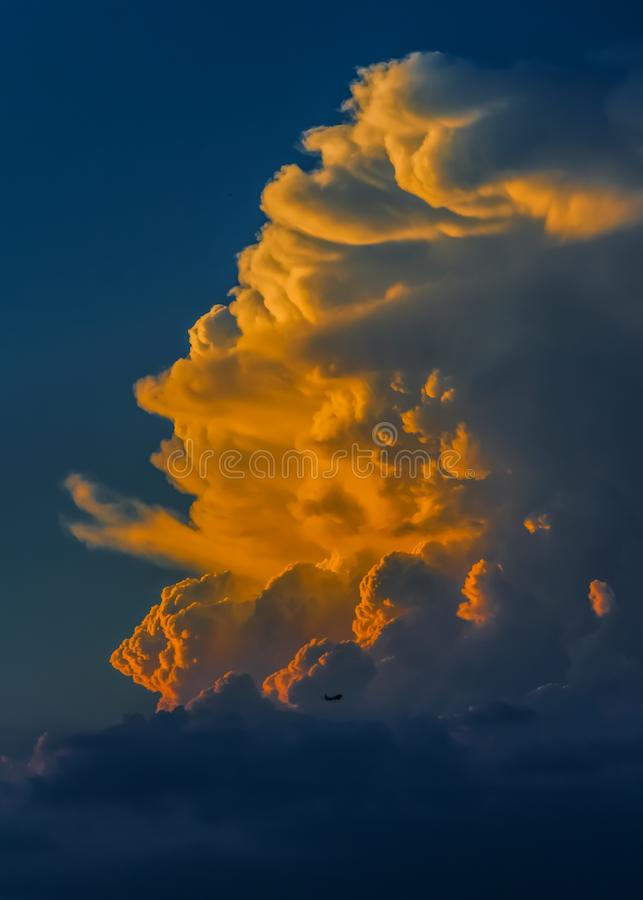 Sunset In White Clouds Free Public Domain Cc0 Image