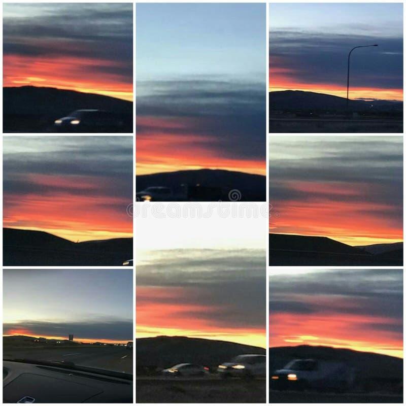 SunsetGlory 免版税库存照片