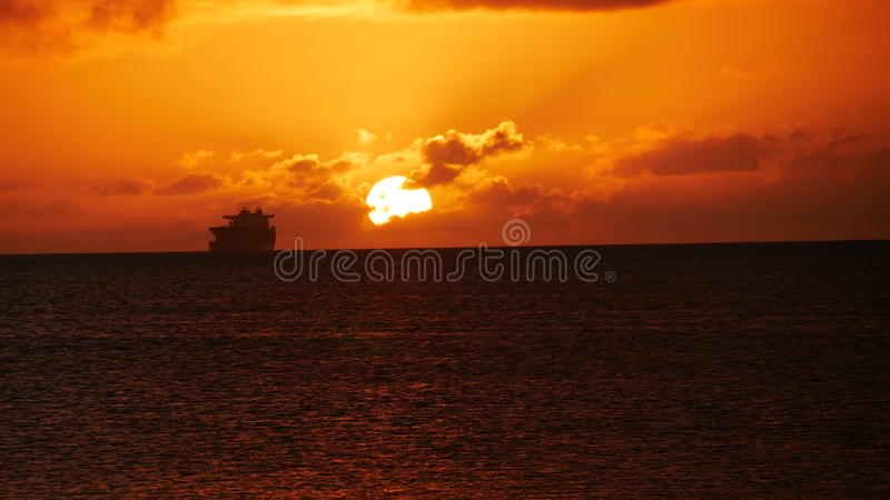 Sunsets σε Saipan στοκ φωτογραφία με δικαίωμα ελεύθερης χρήσης