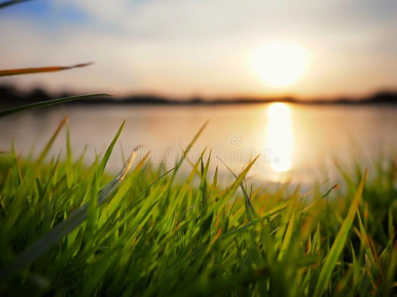 sunsets royalty-vrije stock fotografie