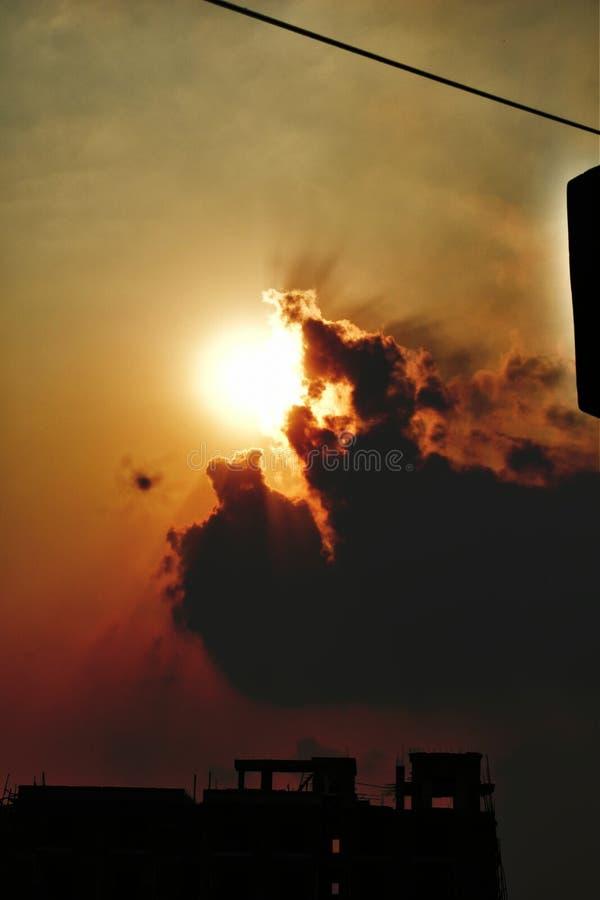 sunsets photos libres de droits