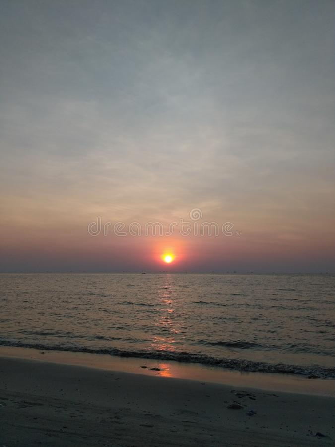 sunsets imagens de stock royalty free