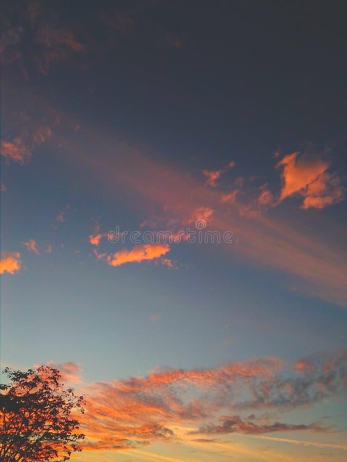 sunsets foto de archivo