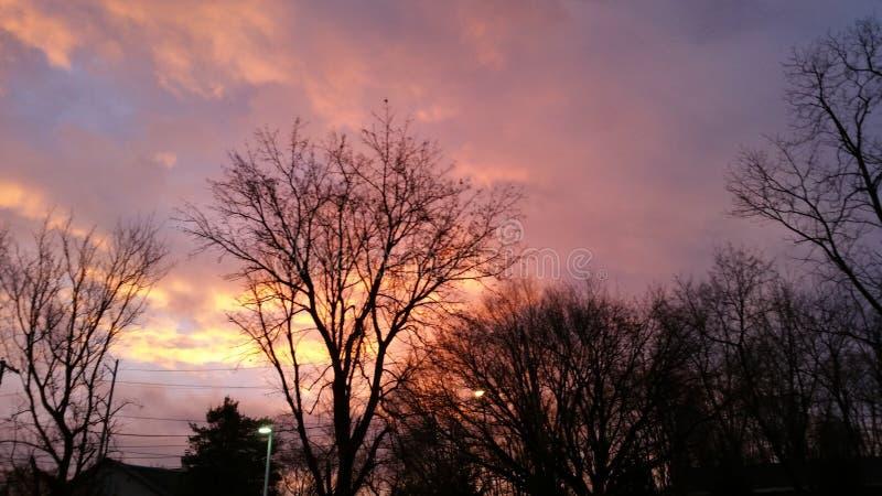 Sunsets fotografia de stock royalty free