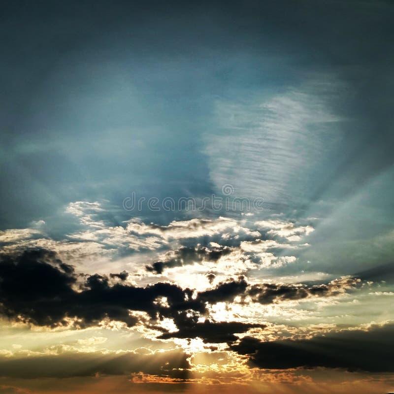 sunsets στοκ εικόνες με δικαίωμα ελεύθερης χρήσης