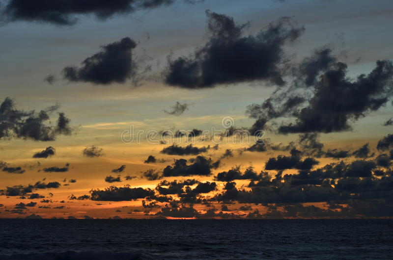 sunsets photographie stock libre de droits