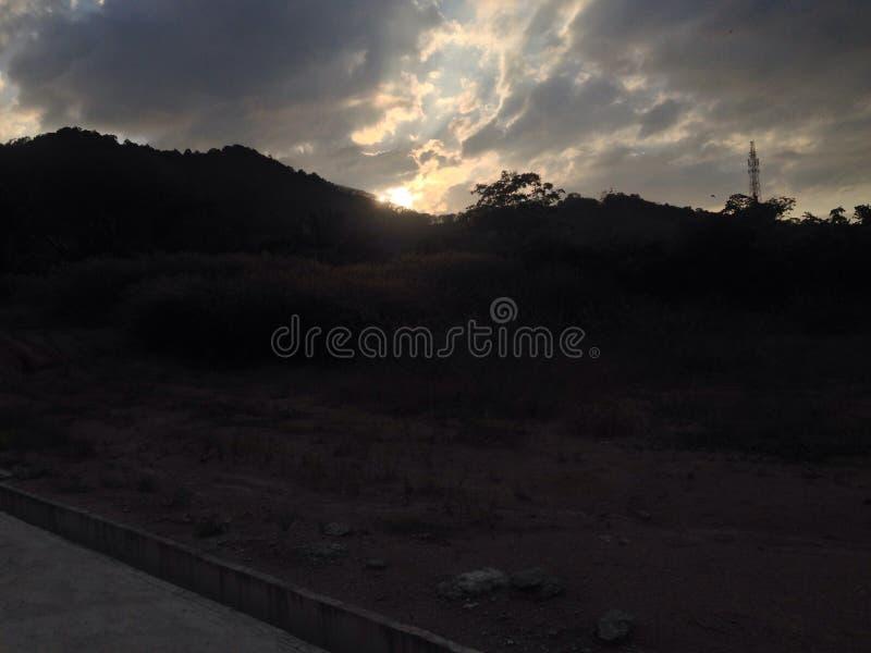 sunsets royalty-vrije stock foto