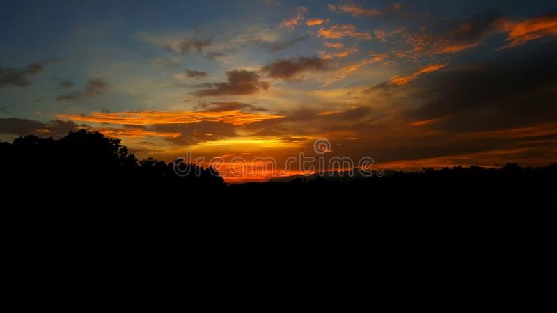 sunsets стоковое изображение