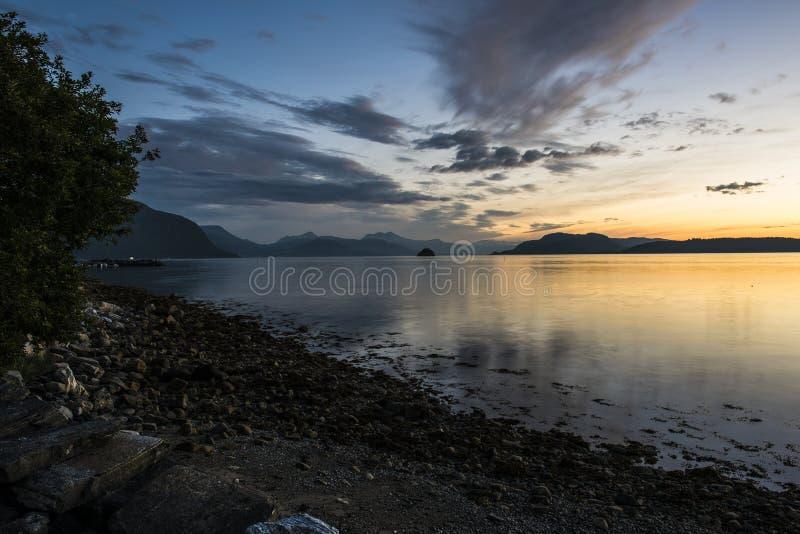 sunsets стоковое изображение rf