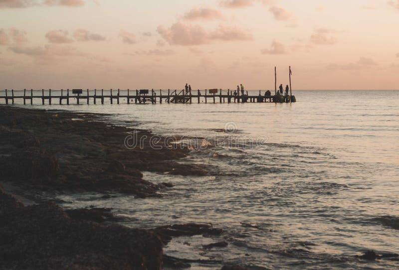 sunsets foto de archivo libre de regalías