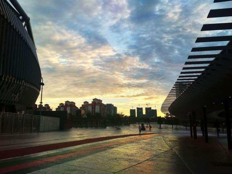 sunsets image libre de droits