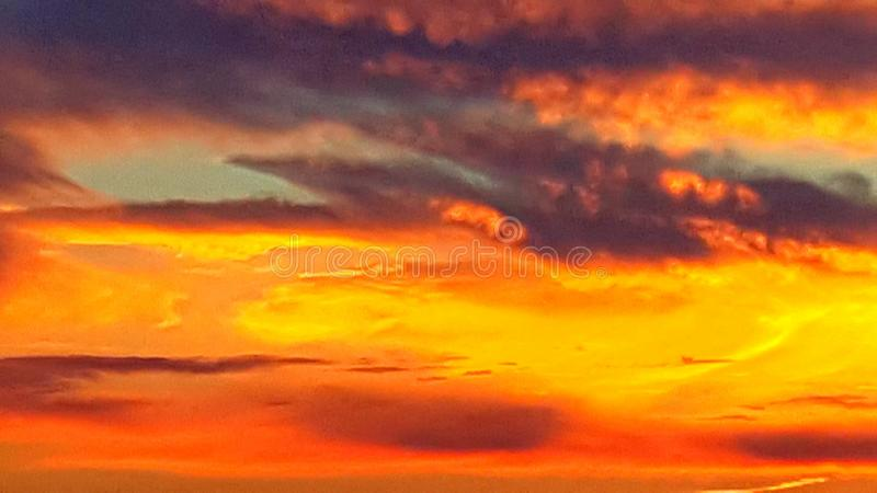 Sunsets royalty free stock image