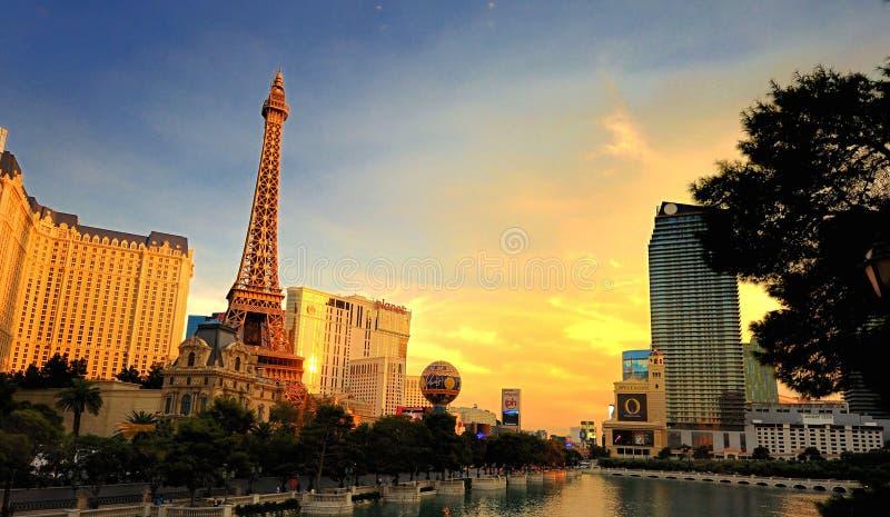 Sunsets Las Vegas royalty-vrije stock foto