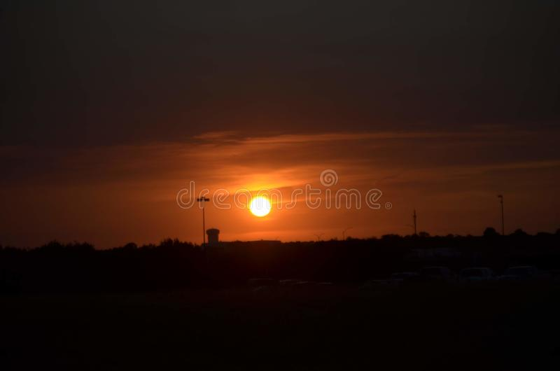 Sunsets. Natural, nite, landscapes, sky royalty free stock photo