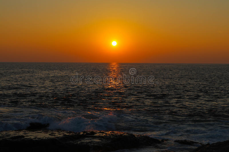 Sunsets royalty free stock photos