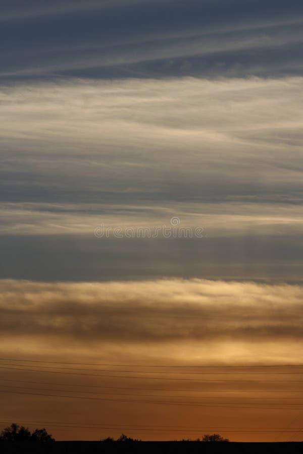 SunsetSkylight obrazy royalty free