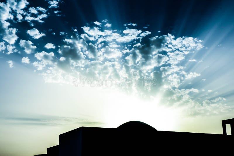 Sunshad photo libre de droits