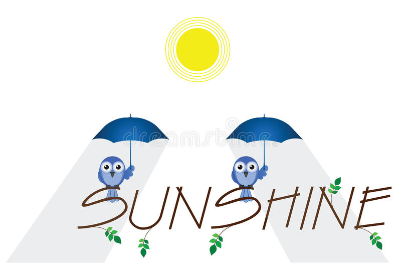 Download Sunshine stock vector. Image of parasol, sunlight, summer - 25300742