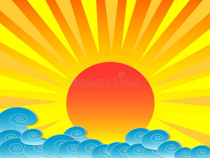 Sunshine Royalty Free Stock Images