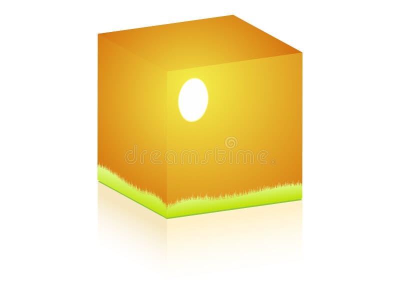 Sunshine On Box Stock Photo