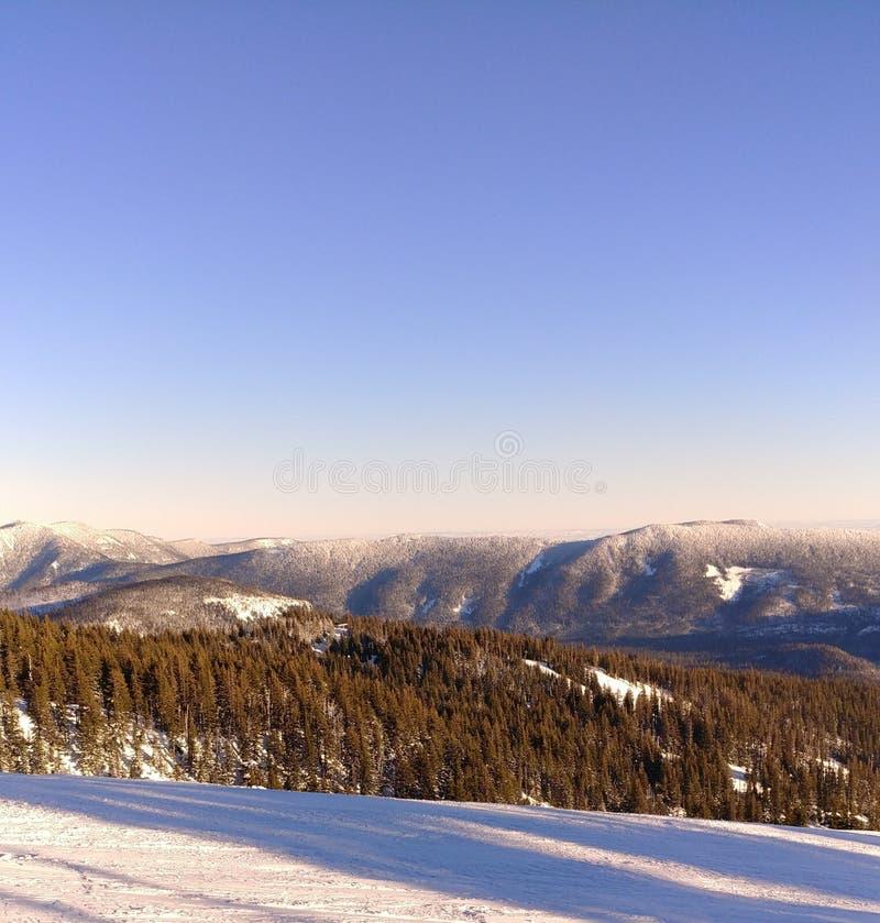 Sunshine on the Cascades stock photos