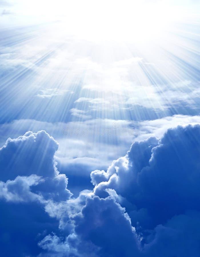 Sunshine On Cloud Stock Image