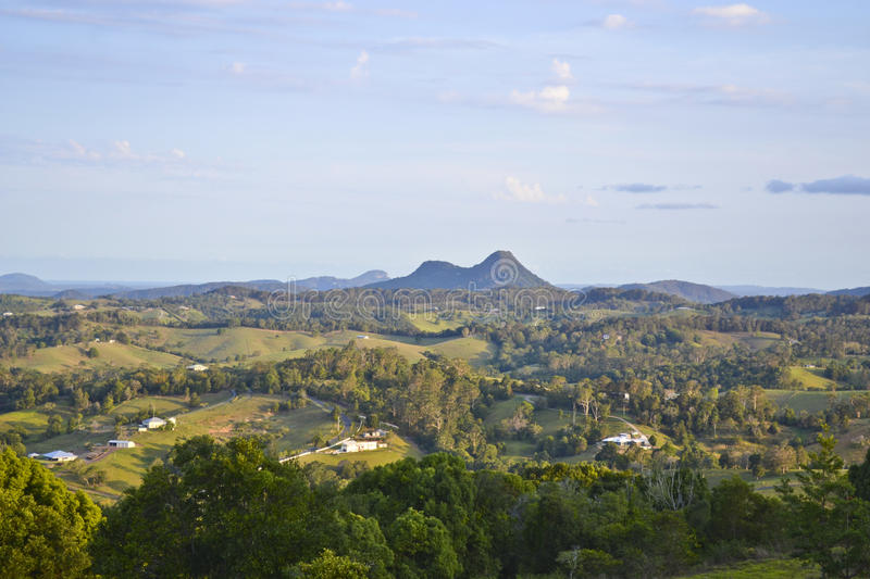 Sunshine Coast Hinterland 4. Noosa Hinterland, Sunshine Coast, Queensland, Australia stock photography