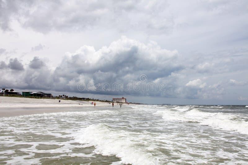 Sunshine Florida beach stock photos