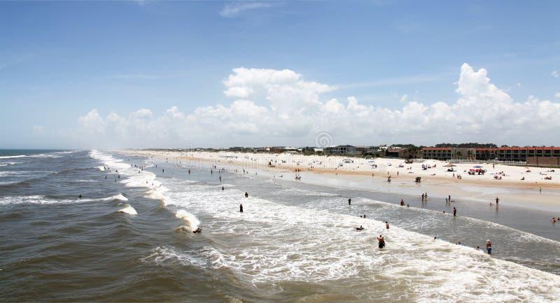 Sunshine Florida beach royalty free stock images