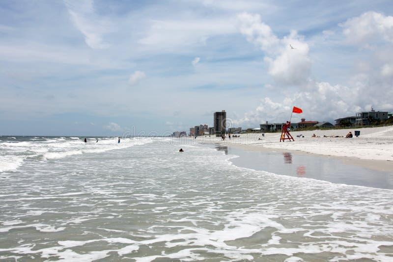 Sunshine Florida beach royalty free stock photo
