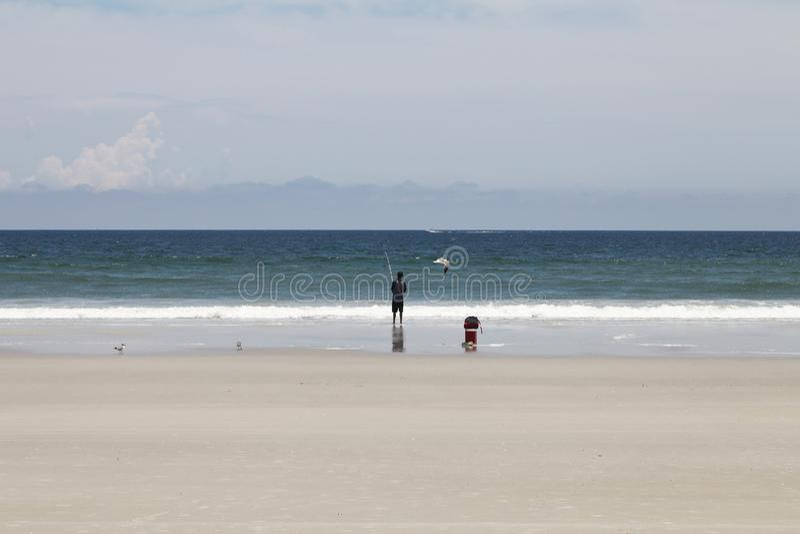 Sunshine Florida beach royalty free stock photos