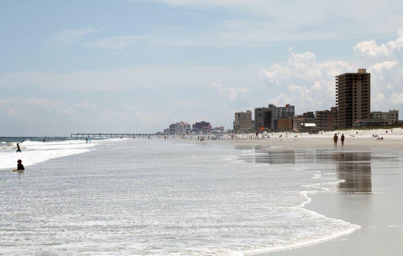 Sunshine Florida beach stock photography