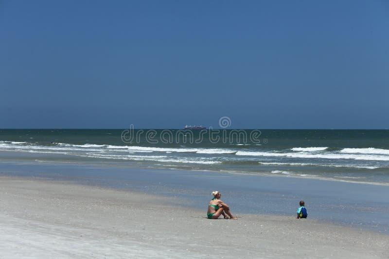 Sunshine Florida beach stock images