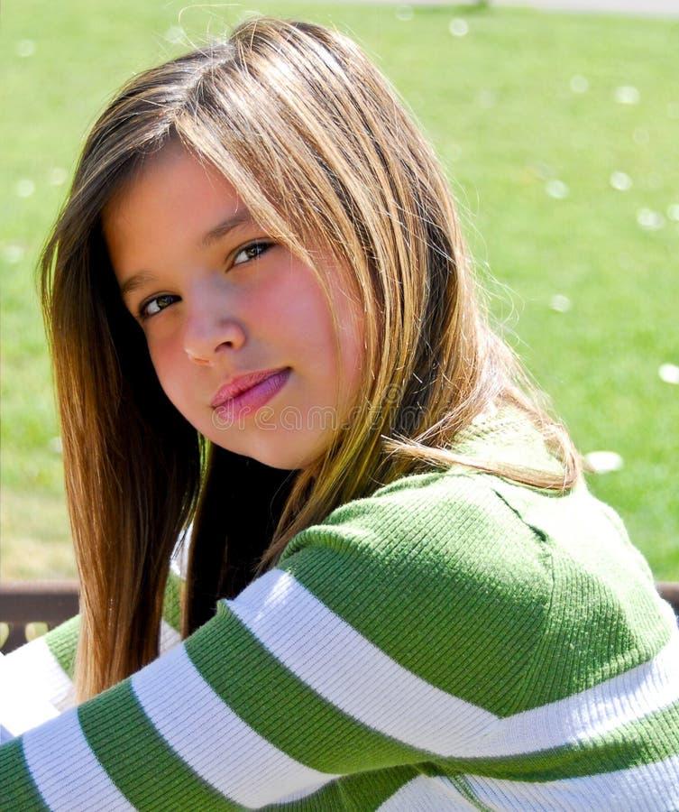 Sunshine Girl Stock Image