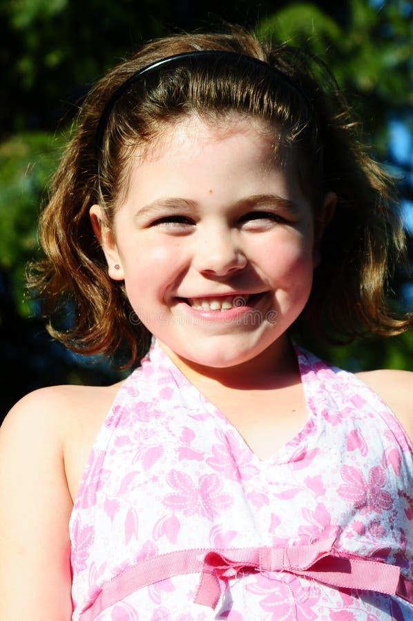 Sunshine girl stock images