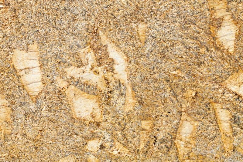 Sunshine Gold Granite royalty free stock images