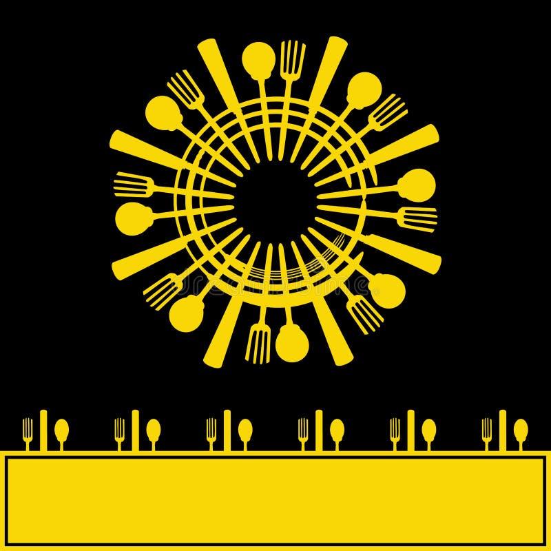 Download Sunshine Menu stock vector. Illustration of meal, cutlery - 31743236
