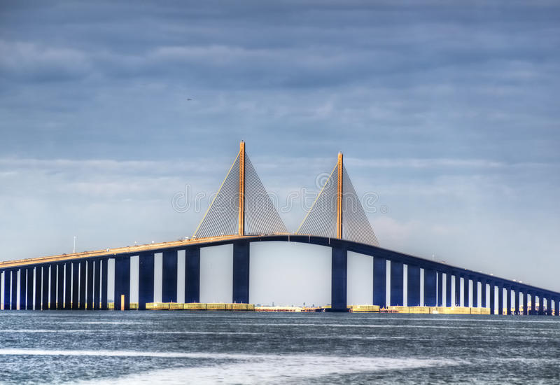Download Sunshine Skyway stock photo. Image of coast, connect - 22806068